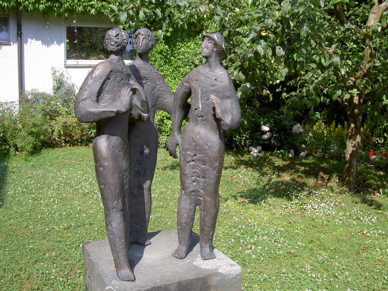 1Begegnung-Skulptur