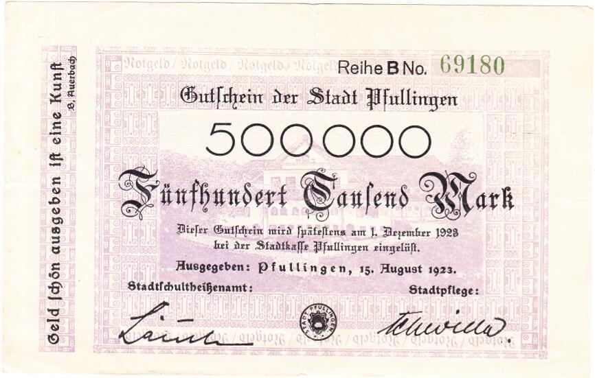 1pfullingen_notgeld1923_StAPf_S_histzahlungsmittel
